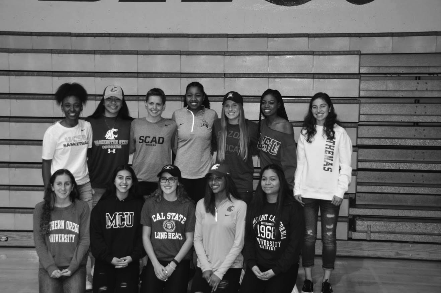 There was a herd of Jackrabbits that signed on to play sports at the collegiate level on Wednesday, February 1.