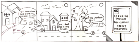 Comic by Natale Roche