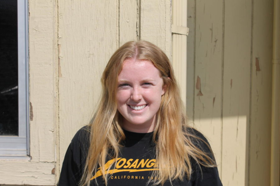 Senior Katherine Grubbs