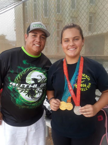 Softball Gets Lessons with Living Legend