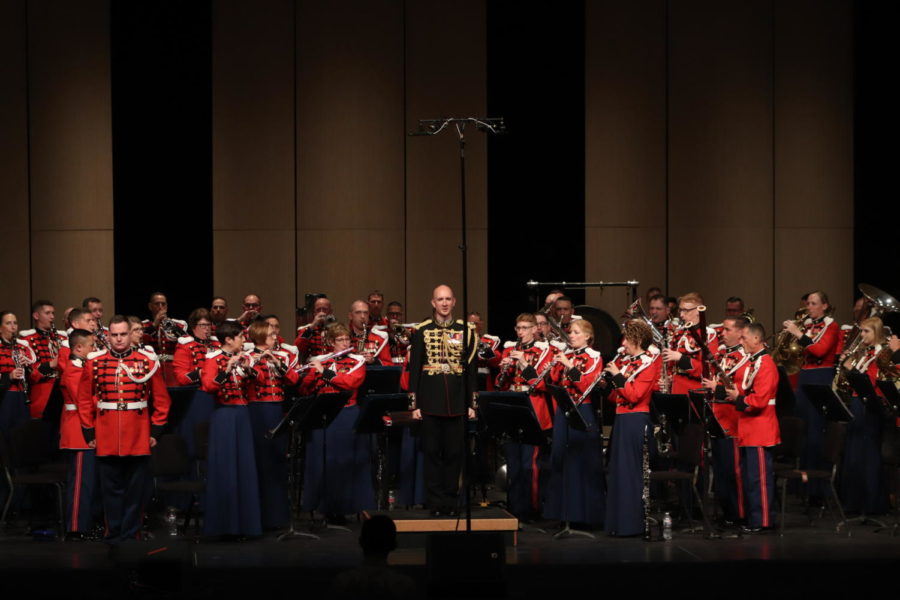 """Poly Hosts """"The President's Own"""" Marine Band"""