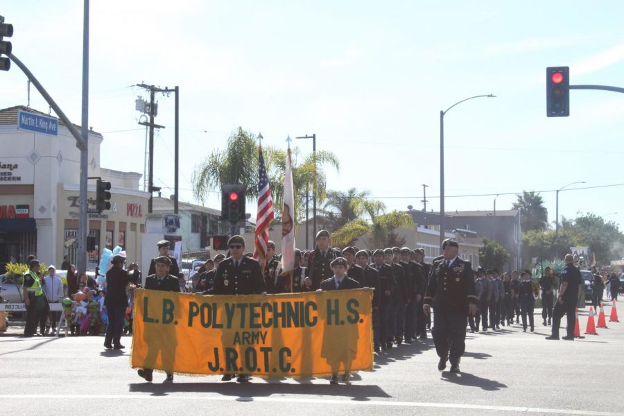 Poly at MLK Day Parade