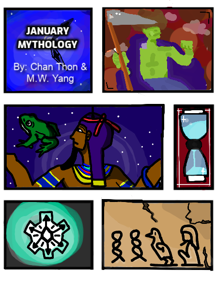 Mythology: January
